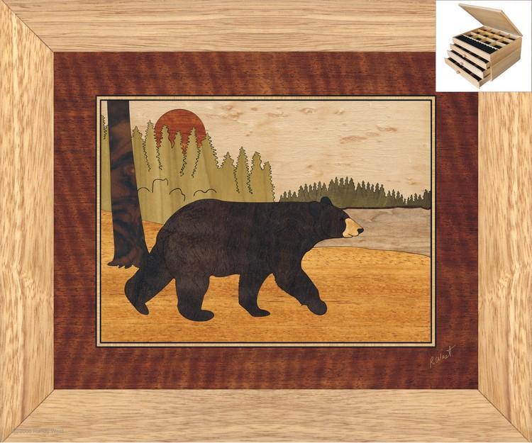 Bear Jewelry Box 3 Drawer