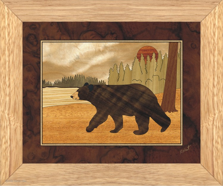 Bear Wall Art bear - wall art 10x12