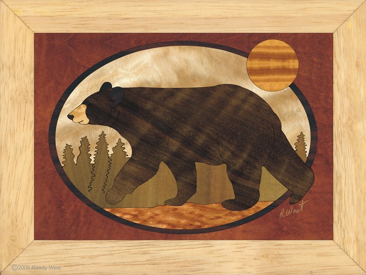 Bear Wall Art bear - wall art 6x8