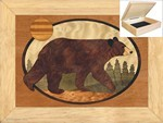 Black Bear - Jewelry Box 6x8