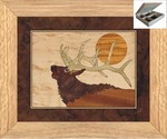Bugling Elk Head - Jewelry Box 10x12