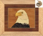 Eagles Head - Jewelry Box 3 Drawer