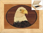 Eagles Head - Jewelry Box 6x8