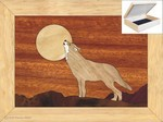Howling at the Moon - Jewelry Box 4x5