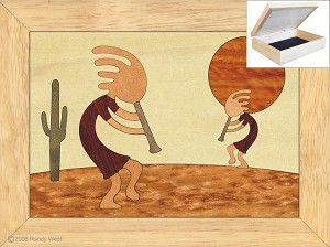 Kokopellis Dance - Jewelry Box 4x5