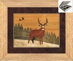 Lone Buck - Jewelry Box 10x12
