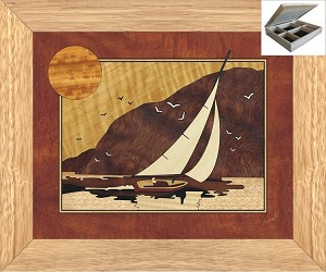 Sunset Sailing - Jewelry Box 10x12