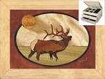 The Elk Calls - Jewelry Box 2 Drawer