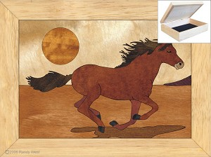 The Mustang - Jewelry Box 4x5