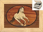 The Stallion - Jewelry Box 2 Drawer