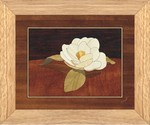 Gardenia Flower - Wall Art 10x12