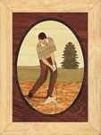 Golf Sand Trap - Wall Art 6x8