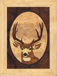 Head Buck - Wall Art 6x8