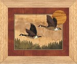 North Woods Geese - Wall Art 10x12