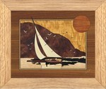Sunset Sailing - Wall Art 10x12