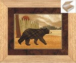 Black Bear - Wooden Chest 10x12