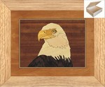 Eagles Head - Wooden Chest 10x12
