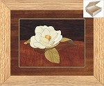 Gardenia Flower - Wooden Chest 10x12