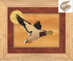 The Mallards Flight - Wooden Chest 10x12