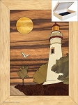 Christmas Gifts for Women - Jewelry Box 4x5 - Lighthouse at Sunset