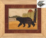 Black Bear - Jewelry Box 10x12