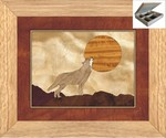 Howling at The Moon - Jewelry Box 10x12