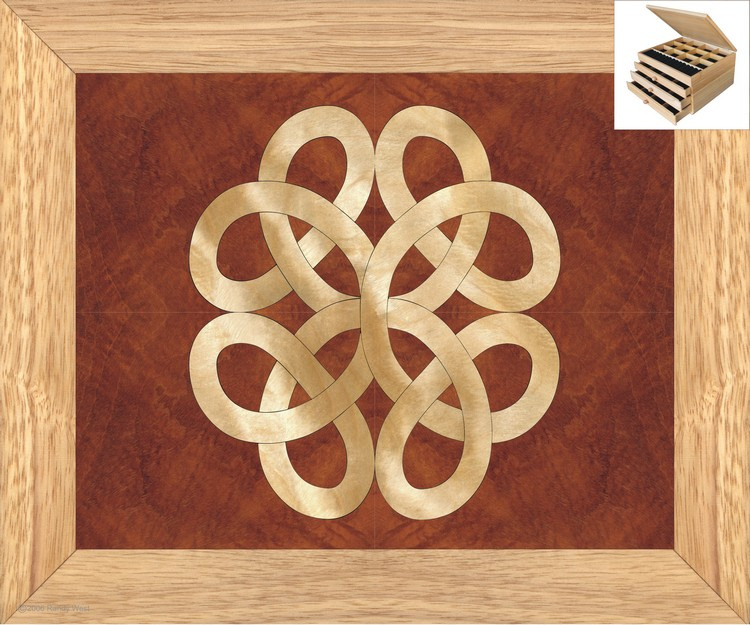 Celtic Jewelry Box -Large Celtic Knot Jewelry Box
