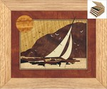 Sunset Sailing - Jewelry Box 3 Drawer