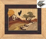 Unusual Christmas Gifts - Jewelry Box 10x12 - Eagle Mountain