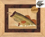 Bass and Dragonfly - Jewelry Box 10x12