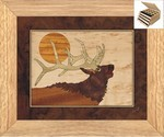 Bugling Elk Head - Jewelry Box 3 Drawer