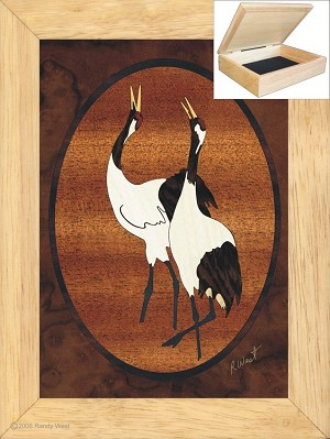 Cranes Call - Jewelry Box 6x8