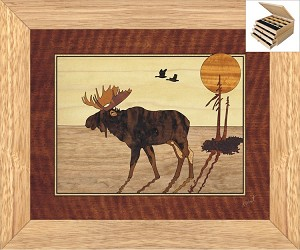 Da Moose - Jewelry Box 3 Drawer