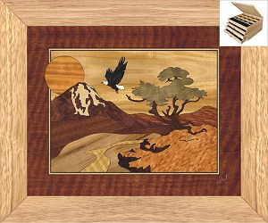 Eagle Mountain - Jewelry Box 3 Drawer