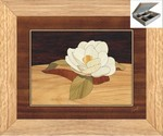 Gardenia Flower - Jewelry Box 10x12