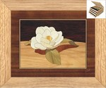 Gardenia Flower - Jewelry Box 3 Drawer