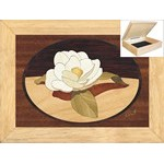 Gardenia Flower - Jewelry Box 6x8