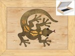Gecko Lizard - Jewelry Box 4x5