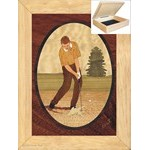 Golf-Sand Trap - Jewelry Box 6x8