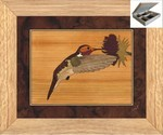 Humming Bird and Flower - Jewelry Box 10x12