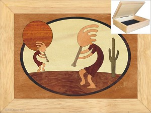 Kokopellis Dance - Jewelry Box 6x8