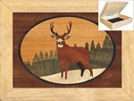 Lone Buck - Jewelry Box 6x8