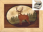 Lone Buck - Jewelry Box 2 Drawer