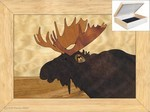 Moose Head - Jewelry Box 4x5