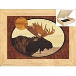 Moose Head - Jewelry Box 6x8