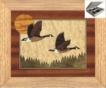 North Woods Geese - Jewelry Box 10x12