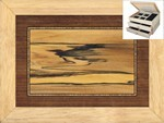 Spalted Poplar - Jewelry Box 2 Drawer