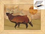 The Elk Calls - Jewelry Box 4x5