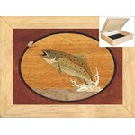 Trout and Mayfly - Jewelry Box 6x8