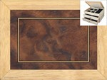 Walnut Burl - Jewelry Box 2 Drawer